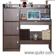 small home office furniture sets. Europe Study Table With Ample Storage By Bantia, Material - Particle Board Home Office Furniture Small Sets