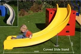 curved slide curved slide support leg 900 1200 products