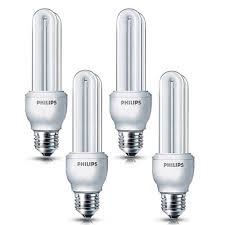 4 Pcs Philips Cfl Lampe 18w E27 Plafond Lampe De Couloir De Chambre à Coucher Lumière Chaude