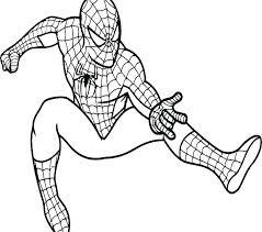 Spiderman Coloring Book Kriskras Info