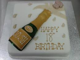 Champagne Bottle Cake Decoration Champagne Bottle 60th Birthday Cake Crumbs Cake Shop Sheffield 11