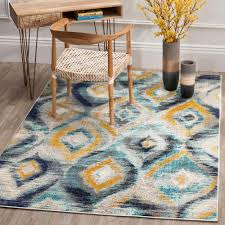 safavieh monaco blue multi 5 ft x 8 ft area rug
