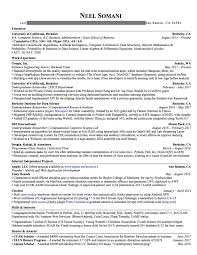 Collection Of Solutions This Resume Got Me Internship Offers From