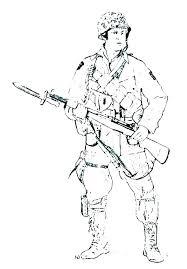 Military Coloring Book