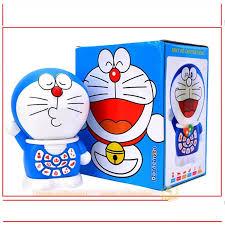 Máy kể chuyện đa năng cho bé: Chú mèo máy thông minh Doraemon (Bản mới  2018) + Tặng free con quay Spiner