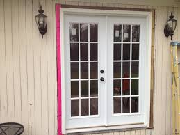 Single French Door Exterior interesting exterior single french