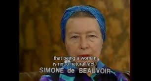 Simone De Beauvoir Quotes Simple Simone De Beauvoir And Mary Wollstonecraft Louise Anderson Art
