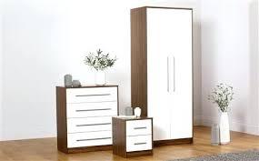 High Gloss Black And Walnut White Bedroom Furniture Argos – newspod.co