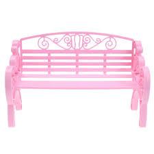 barbie dollhouse furniture cheap. Garden Park Bench Chair Miniature Barbie Dollhouse Furniture Accessories Cheap E