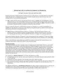 executive summary of books how to write good executive summary for resume 3ce7baffa