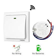 no wiring lighting. Acegoo Wireless Lights Switch Kit, No Battery Wiring, Quick Create Or Relocate On Wiring Lighting I