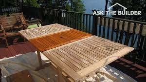 protecting outdoor furniture. Caring For Outdoor Wood Furniture Protecting Ask The Builder