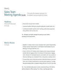 Meeting Agenda Sample Doc Simple Meeting Minutes Format Template Doc Sales Team Staff Sample