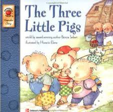 the three little pigs by steven kellogg harper trophy 2002 book cover image