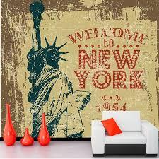 liberty bedroom wall mural: wallpaper liberty custom font b wallpaper b font for walls d retro statue of font b liberty b
