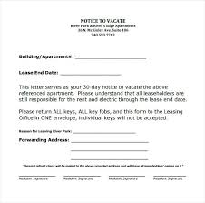 Notice Of Lease Termination Letter From Landlord To Tenant Sample Lease Termination Letter Free Download Rent Notice Landlord