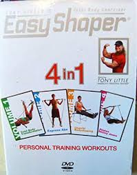 Easy Shaper Exercise Chart Amazon Com Easy Shaper Tony Littles 4 In 1 Personal