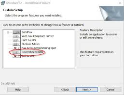 Cloud Fax Using The Cover Sheet Editor