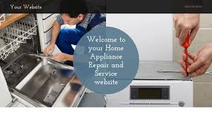 Home Appliance Service Home Appliance Repair And Service Website Templates Godaddy