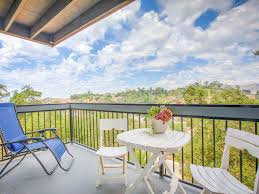 hillside contemporary furniture. Balcony - With Breathtaking Views And Outdoor Seating. Exterior Contemporary Hillside Apartment, Furniture U