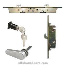 sliding patio glass door locks