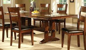 dark oak dining room table and chairs small solid furniture interior home design ideas kitchen surprising oa