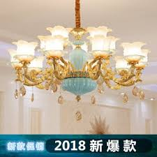 crystal chandelier living room light european creative personality warm romantic french simple european modern simple bedroom hall chandelier clothing