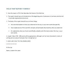 Science Report Format Scientific Report Format Template