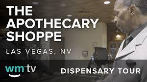 dispensary tour the apothecary pe in las vegas nv cal lexichronic