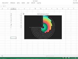 Excel Radial Bar Chart Radial Bar Chart