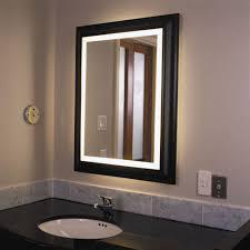 Bathroom Interior Frame Vanity Wall Mirror Large Bathroom With Black  Interior Large Bathroom Mirror With Black