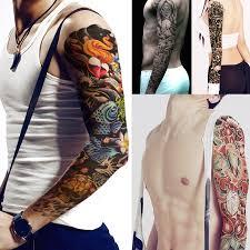 Glaryyears 200 Pieces Wholesale Full Arm Temporary Tattoo Sticker
