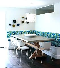 banquette dining table corner round seating furniture folding bench for banquette dining table