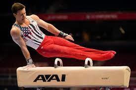 Stanford gymnast leads U.S. men's ...
