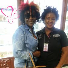 Look who's in Port today! The amazingly talented actress and producer Audrey  Reid. We loved how warm and kind you were to our st… | Port, Actresses,  Duty free store