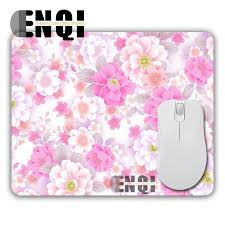 cute flower original padded cherry pink desktop pad mousepad optical mouse mat computer mice pads durable gamer sd slide mats in mouse pads from computer