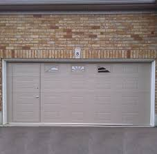 enjoyable opening garage doors garage doors garage door with entry built in man dog screen
