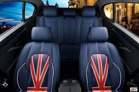 mini cooper blue pu leather luxury full