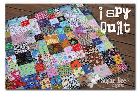 I Spy Quilt Pattern