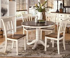 image of antique white kitchen table and chairs