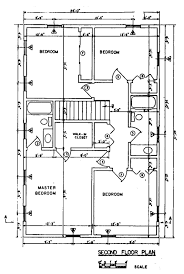 Free Colonial House Plans   Colonial House Floor PlansColonial House nd Floor Plan
