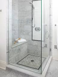 small shower size this small shower was fitted into a bathroom corner and feels more spacious