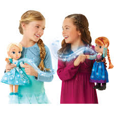 disney frozen singing sisters elsa and anna dolls exclusive walmart