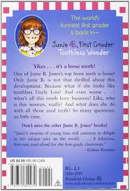 junie b first grader toothless wonder junie b jones no 20 barbara park denise brunkus 9780375822230 amazon books