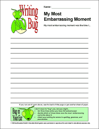 education world writing bug what s your most embarrassing moment writing bug a most embarrassing moment