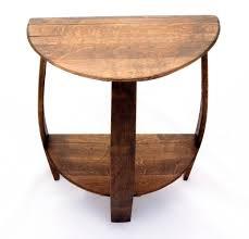 awe inspiring half round dining table 10