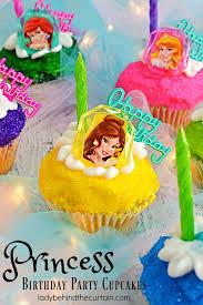 Princess Birthday Party Cupcakes