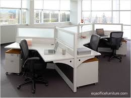 modern office cubicle. A Modified Dogbone Style Cubicle With Glass. Http://joycecontract.com/office -tables-desks/office-cubicles.html | Designs Pinterest Office Modern