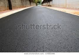 Recently Laid Asphalt Road Stock Photo Edit Now 579005998