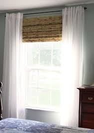 bamboo curtains ikea white sheer ikea vivan curtains with bamboo panel shade devons glass door blinds